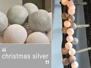 Happy Lights LED-pallovalosarja Christmas Silver (20 kpl)