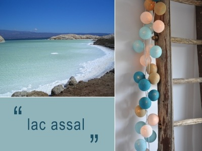 Happy Lights LED-pallovalosarja Lac Assal (20 kpl)