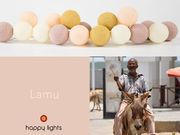 Happy Lights LED-pallovalosarja Lamu (20 kpl)