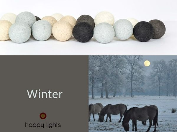Happy Lights LED-pallovalosarja Winter (20 kpl)
